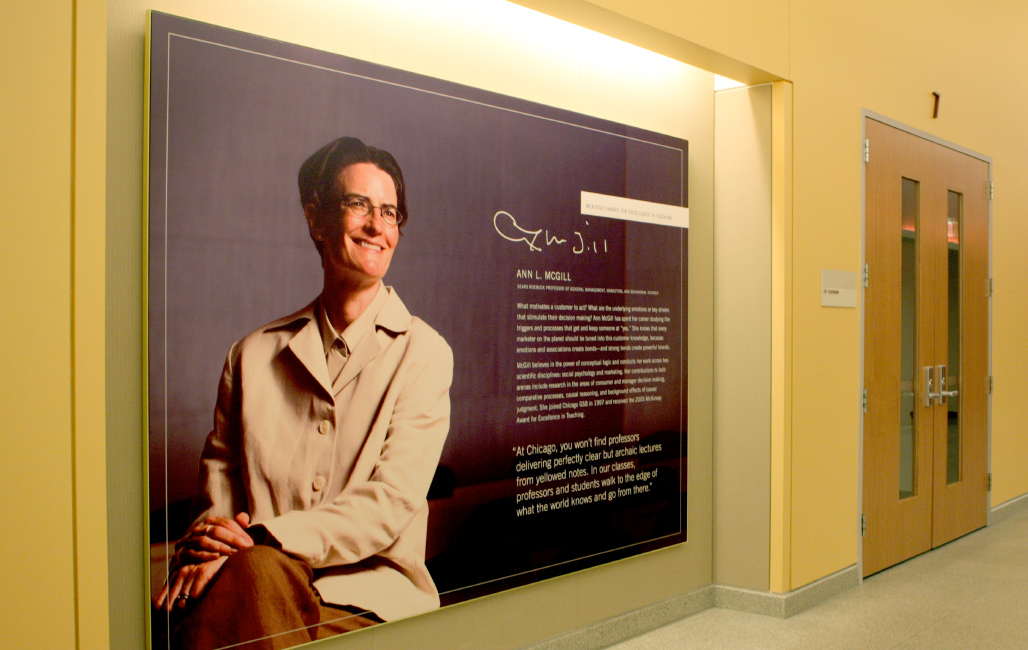 Harper Center Interior Branding.