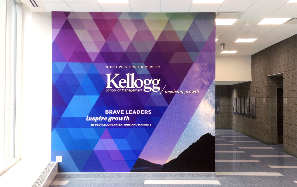 Environmental design at Kellogg School of Management at Northwestern University