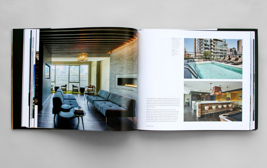 Hartshorne Plunkard Architecture book, designed by Smith Design Co., Evanston